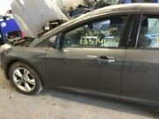 13 14 Ford Focus Driver Front Door Electric 1 Touch Down Grey 2833039