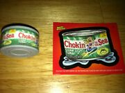 Topps Wacky Packages Collectible Eraser Series 2 Choken Of The Sea Erasers 7