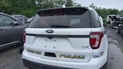 Trunk/hatch/tailgate Base With Police Package Fits 16-17 Explorer White
