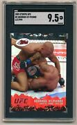 2009 Etopps Ufc Georges St. Pierre 2 Rookie Rc /999 Sgc 9.5 Topps Highest Grade