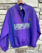 Vintage Surf Style Interplanetary Body Gear One Size Iridescent Wind Breaker 80s