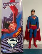 Custom Christopher Reeve Superman 12-inch Action Figure In Mego Box