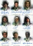Dead Zone Seasons 1 And 2 Autograph Card Set 15 Cards Rittenhouse 2004