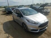13 14 Ford Fiesta Driver Front Door Electric W/o Numbered Keyless Pad Silver
