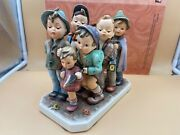 Hummel Figure 347 The Seven Swabia 7 1/2x7 7/8in 1 Choice - Top Condition
