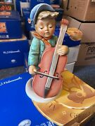 Hummel Figure 2186/iii To Dance Bass Violinist 33 Cm. 1 Choice Incl. . Top State
