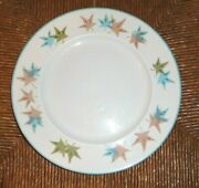 Vintage 1960 Lot Of 5 Franciscan Sycamore Dinner Plates