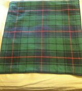 Pair Of Williams Sonoma 2 Tartan Plaid 18 Pillow Covers Blue Green And Red B1
