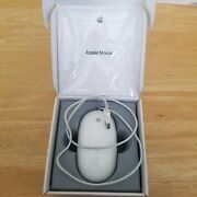 Apple Mouse Mb112ll/b Usb Mouse New Sealed A1152 Optical Wired
