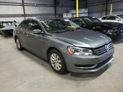 13 14 Vw Passat Driver Front Door Electric W/o Memory Silver 4046436