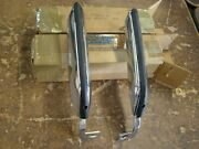 Nos Oem Ford 1967 1968 Mustang Front Bumper Guards With Pads
