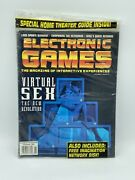 Electronic Games Magazine November, 1994 Vol.3 Issue 2 Vintage Brand New