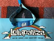Lollapalooza Ticket July 29 - August 1 2021 Grant Park Chicago 4 Day Pass