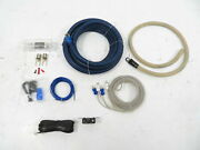 2-channel Subwoofer Amplifier Wiring Kit, 0 Gauge Wire And Controller