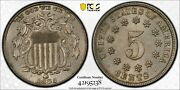 1883 Shield Nickel Pcgs Ms 62 Well Struck And Quite Clean With A Bit Of Crust