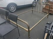 1912 Vintage Antique Brass Full Size Bed- Limited Free Sw Select Delivery