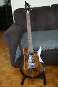 New Erg Cardinal Heavy Metal Pro-level Guitar Handmade In Israel One Of A Kind