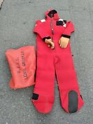 Stearns Immersion Suit From U.s.n.s.leroy Grumman Model Iss-590i Adult Universal