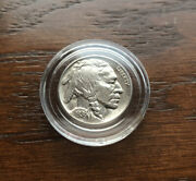 1936 Buffalo Nickel With Full Horn Gemcondition