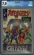 Cgc 7.0 Avengers 28 White Pages 1st Appearance Of The Collector 1966