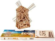 Wood Trick 0001a Wooden 3d Mechanical Model Mechanical Mill  Puzzles