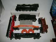 Lionel Post War Set 2037 Loco W/ 6026w And Cars  See Notes  Lot 21279
