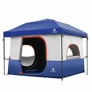 Tents-for-camping-5-person, Dark Room Cube Tent, Pop Up 10x10 Canopy, Uv 50+