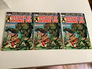 The Hands Of Shang-chi Master Of Kung Fu 19 Aug-1974 Marvel Lot Of 3