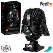 Lego Star Wars Darth Vader Helmet 75304 Collectible Building Toy 2 Day Delivery