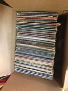 Large Lot Of Vinyl Records Over 340