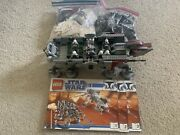 Lego Star Wars Republic Dropship With At-ot Walker 10195 Used See Description