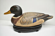 T J Hooker Decoy Ducks Unlimited Special Edition Wood Duck Drake-man Cave Cabin