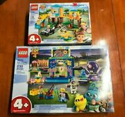 Lego Toy Story 4 Lot Of 2 Sets Buzz And Bo Peep Playground Adventure 10768 10770