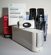 Canon Fs4000 35mm Film And Slide Scanner With Rare Aps Adapter Ships Worldwide