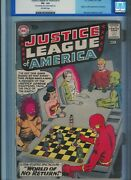Cgc 3.5 Justice League Of America 1 Flash Aquaman Wonder Woman Ow Pages 1960