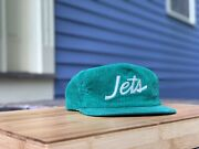 Vintage New York Jets Sports Specialties Corduroy Hat The Cord Script