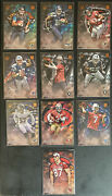 2014 Topps Valor Lot Of 10 Rookie Cards Featuring Khalil Mack And Derek Carr