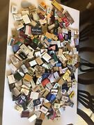 Lot Of 380 Vintage Matchbook Covers Match Boxes Hong Kong Vegas Travel Used