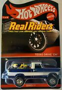 2012 Hot Wheels Rlc Real Riders Series Texas Drive 'em 3038/4000, In Protector
