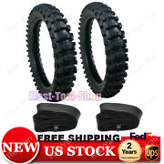 Front 70/100-19 90/100-16 Rear Tire+tube Set For Off Road Dirt Pit Bikes Replace
