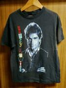 80s Made In Vintage Usa Huey Lewis News Black T-shirt America Used