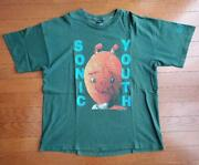 90s Sonic Youth Vintage T-shirt List No.t3069