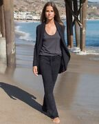 Barefoot Dreams Size Large Cozychic Lite Soft Lounge Pants In Black Style 481
