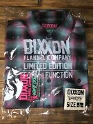 Dixxon Flannel Company The Shreddy Rare Sold Out Pink Teal Large Tall Lt