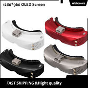 Skyzone Sky04x Fpv Video Goggles+5.8ghz 48ch Receiver Oled Screen For Rc Drone