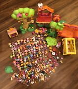 Lalaloopsy Large Lot Mini Dolls Accessories Tree Much More