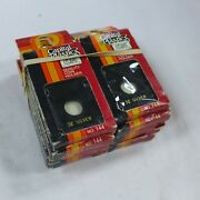 Lot Of 10 Capital Plastic 2x2 Coin Holders For 3 Cent Silver Black Nos