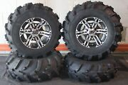 Renegade 1000 25 Mud 589 Atv Tire And Ss212 M Wheel Kit Made In Usa Can2ca