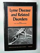 Lyme Disease And Related Disorders By Edward M Eds Benach, Jorge L And Bosler