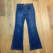 Tommy Jeans Flare Leg Jeans 29 Inch Waist Size 5 Juniors 90and039s